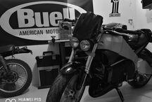 Buell garage