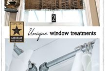 * Window treatment *