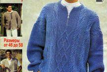Журнал вязание для мужчин