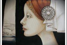Panny Ćmy / Moje malarstwo