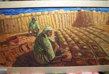 Dipinti olio su tela, opere di Raiti Filippo / Dipinti olio su tela, opere di Raiti Filippo