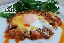 Yumurta Yemekleri / Tamamı denenmiş ve fotoğraflanmış olan ekonomik, pratik ve evde kolayca hazırlayabileceğiniz en lezzetli yumurta yemek tarifleri burada!