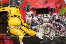 22 Amazing Street Paintings / 22 amazing street paintings from the Valpariso, Chile