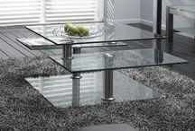 Glazen salontafels / Uitgebreid assortiment glazen salontafels in diverse vormen en afmetingen. U kunt ook bij ons terecht voor maatwerk salontafels!