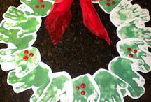 Christmas classroom art