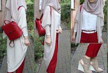 casual hijabs..