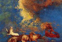 Simbolisti francesi / dipinti dei simbolisti francesi