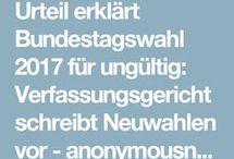 Bundesverfassungsgericht Bundestagswahl 2017 ungültig