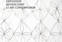 Dentelle... et plus si affinités - Exposition du 22 novembre 2014 au 3 janvier 2015 à Nontron / exposition métiers d'art et art contemporain