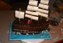 Pirate party / Pirate boy's birthday party ideas