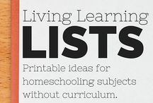Creating Curriculum / Ideas and tips on how to put together resources to create your own curriculum for various grades and ages.  Homeschooling | Unschooling | Unit Study