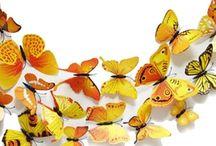 3D dekorativní motýlci