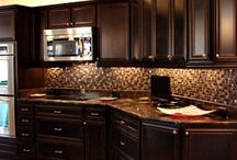 kitchen cabinets / by Kathryn Gorsha