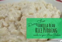 bread pudding/ rice pudding / by Tina Borda DuTill