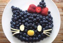 Ételdíszek.
