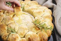 Broodkrans met camembert
