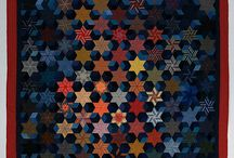 six point stars quilts