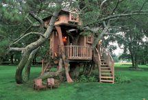 Tree houses / by Kathleen Bogart