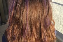 Hair / Purple