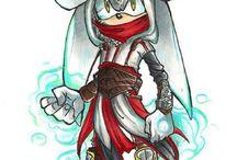 Silver the hedgehog / Silver the Hedgehog
