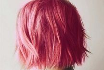 [colorful hair] Pink