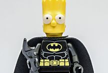 Simpsons Lego & Minifigures / The Simpsons themed Lego, sets and other cool pieces.  Minifigures include Homer, Bart, Marge, Lisa, Maggie, Apu, Krusty the Clown, Mr Burns, Barney, Moe, Milhouse and more Springfield favorites!