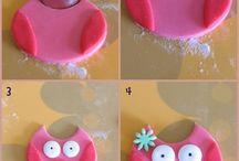 Déco gâteau pâte à sucre