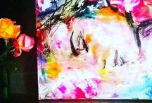 Portrait peinture Art contemporain