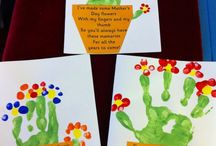 Mothers and Father's Day card activities