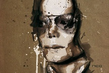 Retratos de artistas