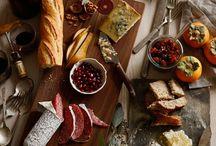 Сырные и прочие тарелки