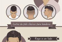 Peinados y barba