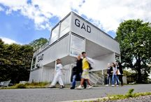 GAD / Container structure for office and art facilities