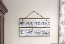 WOOD SIGNS...DIY / by Erin Hicks