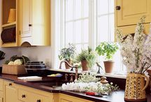 Paint Your Kitchen Cabinets / Make your cabinets the focal point in your kitchen. Bring life and happiness in to your kitchen with color. Advance by Benjamin Moore is a great paint to use when painting furniture and cabinets.