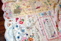vintage linen quilts
