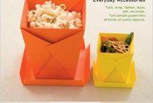 Origami per scatole