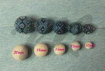medidas de bolas para mostacilla