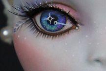 melukis mata boneka
