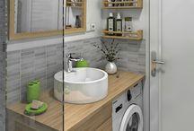 Salle de bain Lino idée