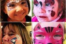 Face Painting / These are some face painting work from our team of talented face painters. We service Toronto, and across the GTA and surrounding cities.