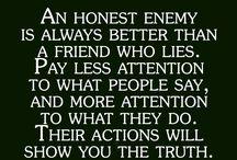 Qoutes lie