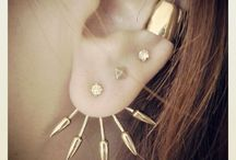 Five Spike Stacks / Earring stacking inspiration from some of our fans  / by Pamela Love
