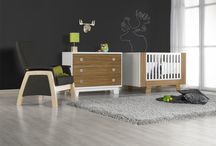 Baby's room / Chambre de bébé / Dutailier's convertible cribs stand in complete harmony with your child's evolving needs. Dutailier meets and even surprasses all government manufacturing standards in North America. Find also many styles of gliders for a unique nursery room / by Dutailier