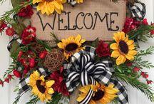 Květinové vazby, dekorace, nápady...