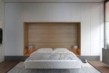 Интерьер - Маленькая спальня