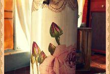 botellas decoradas / by Odalis Lopez