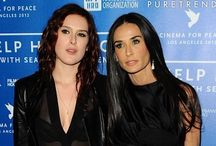 Demi Moore and Rumer Willis / Demi Moore and Rumer Willis by http://www.wikilove.com