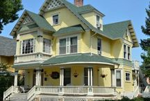 Lennox House Bed and Breakfast / 1339 North Nevada Avenue Home for Sale Colorado Springs 1891 Queen Anne Victorian