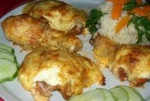 sajtos csirkecomb
